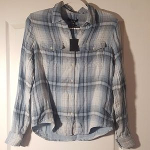 NWT Joes Button Down Plaid Shirt